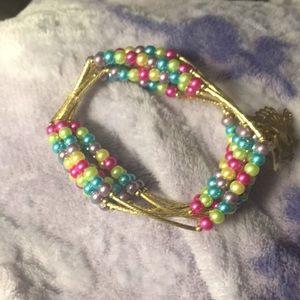 Jewelry - Artesanal Charm Bracelet with 18kt plated charms